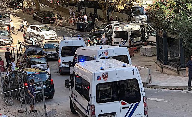 Bastia : Les deux hommes interpellés avec arme et gilet pare-balles placés en détention