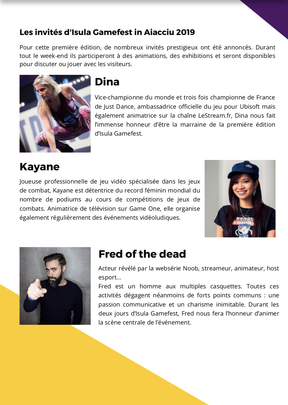 Isula Gamefest : le premier salon du jeu vidéo et de l'esport corse dévoile son programme