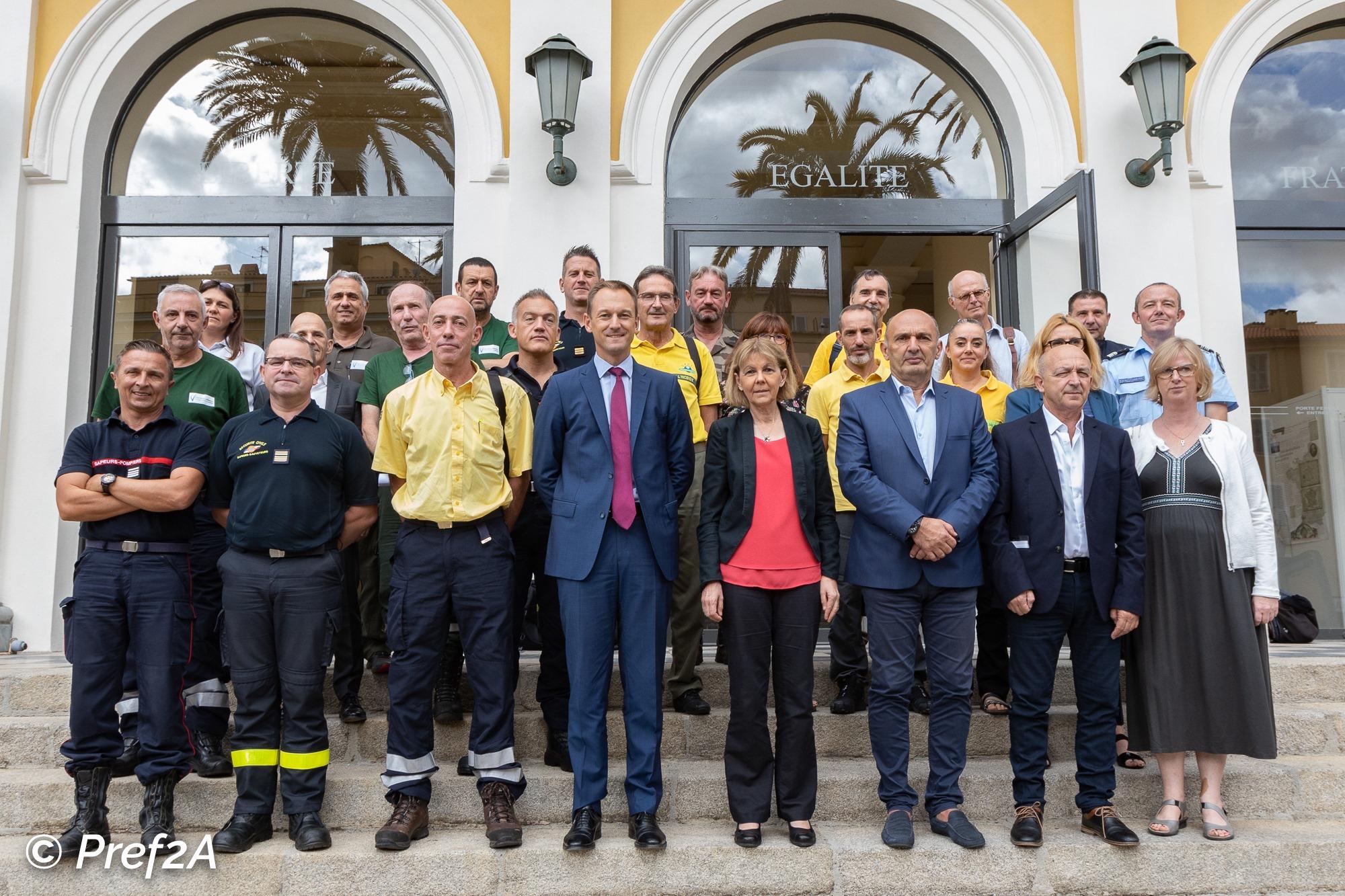 Incendies : le bon bilan de la Corse-du-Sud