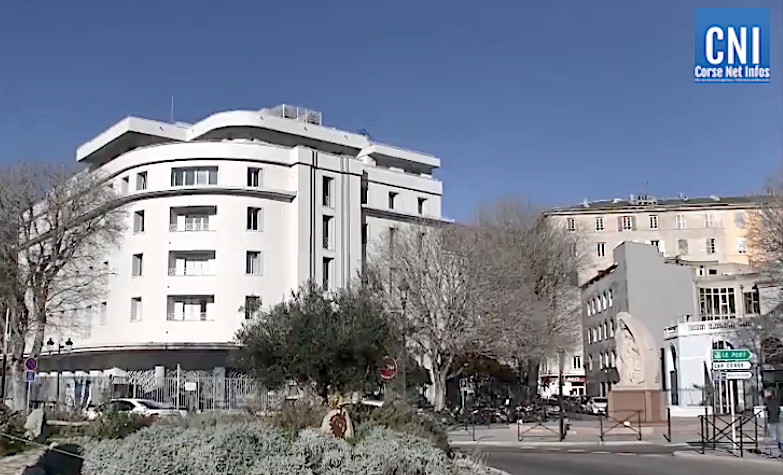 Une valise oubliée devant la mairie de Bastia déclenche une alerte à la bombe