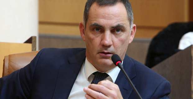 Gilles Simeoni, président du Conseil exécutif de la Collectivité de Corse.