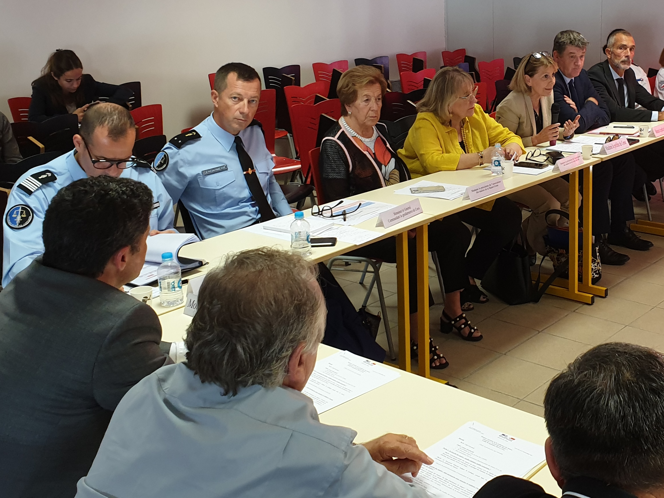 Josiane Chevalier aux maires de Corse : «la peur doit changer de camp»