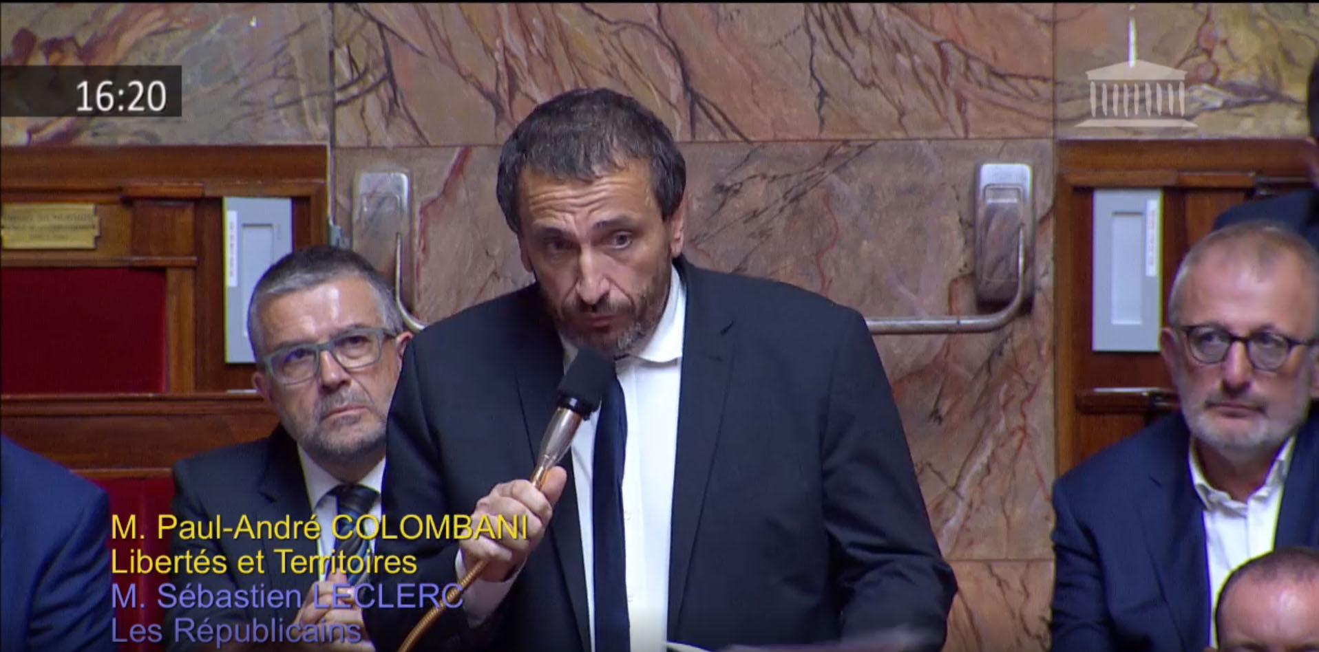 Dérive mafieuse en Corse : Paul-André Colombani interpelle le Gouvernement