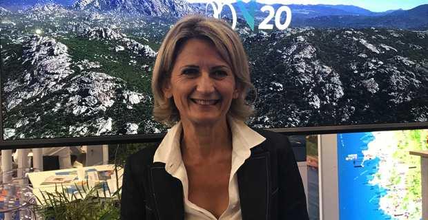 Nanette Maupertuis, conseillère exécutive et présidente de l'Agence du tourisme de la Corse.