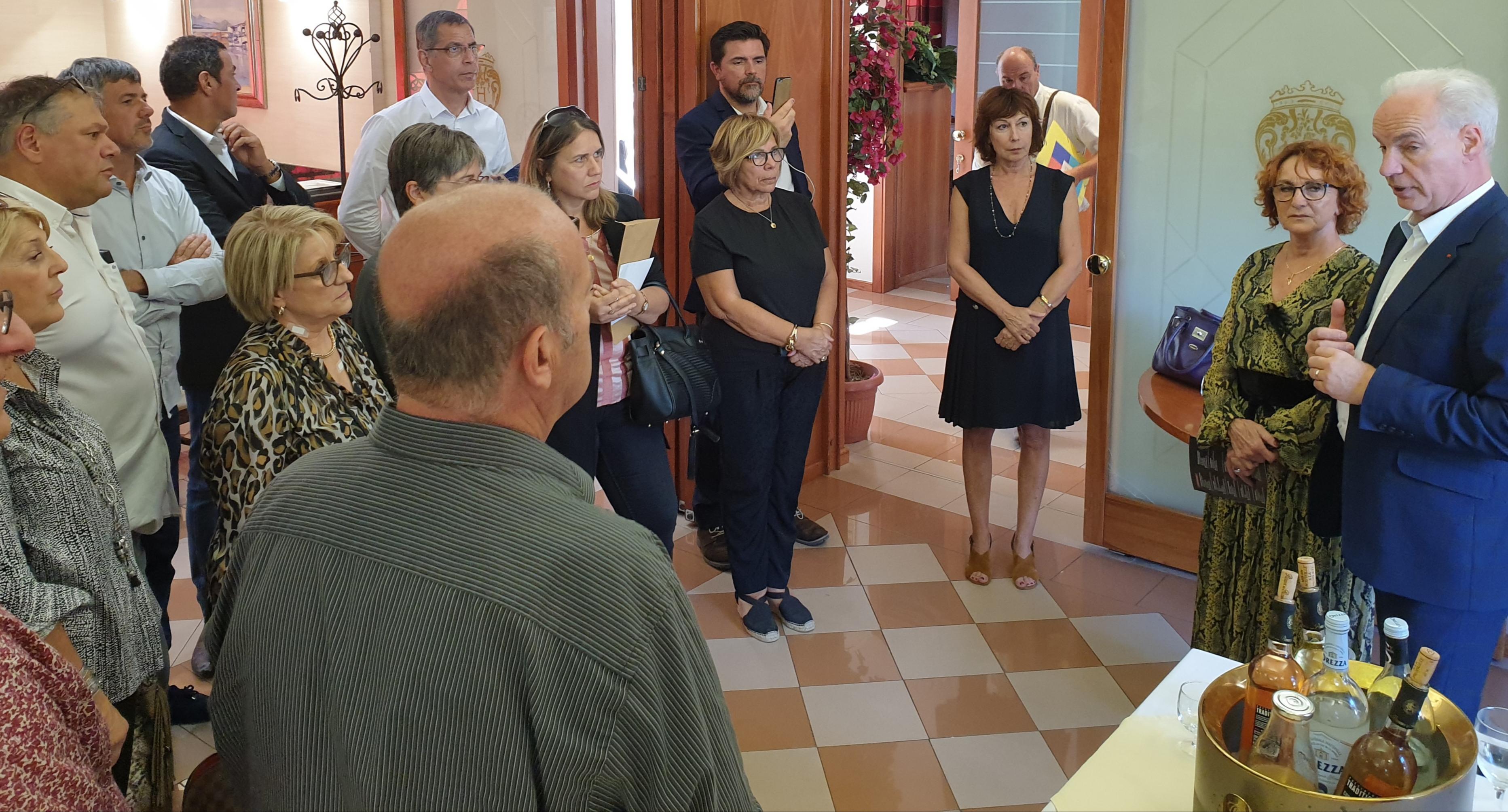 """""""Porter haut les valeurs de proximité"""" : Le Président national de l'U2P en visite en Corse"""