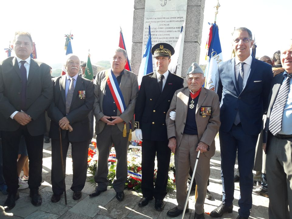 La Corse célèbre sa libération à Teghime, 76 ans après