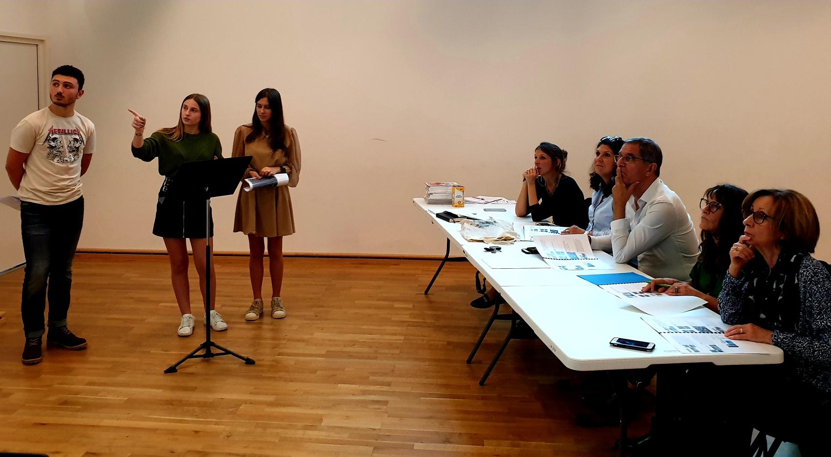 Bastia : le théâtre de verdure de l'Alb'oru imaginé par des élèves du lycée Paul-Vincensini