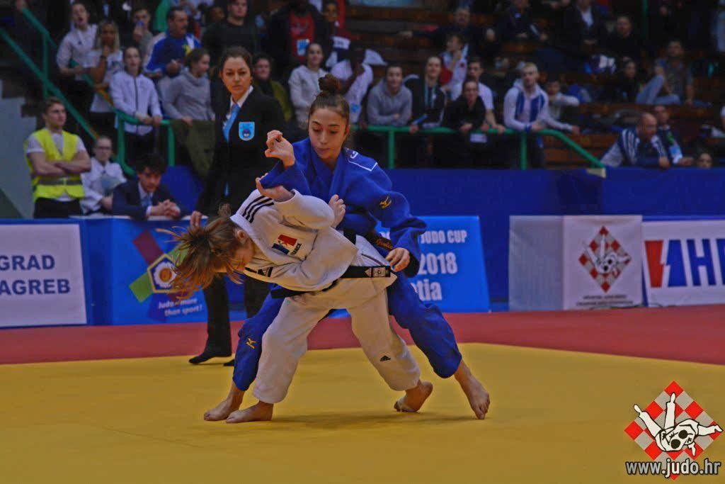 Judo : l'Ajaccienne Ghjuliana Ballo méritait mieux aux championnats du monde cadet