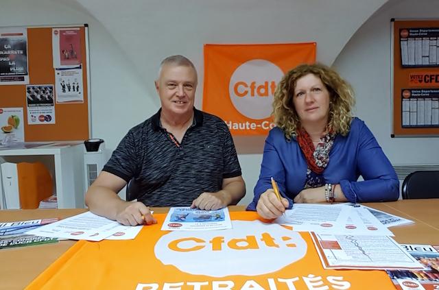 L'Union territoriale des retraités CFDT de Corse, reçue à la préfecture à Bastia