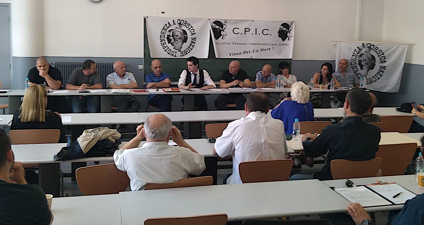 Le Culletivu paesanu indipendentistu corsu veut faire reconnaître par l'ONU le peuple Corse comme peuple autochtone