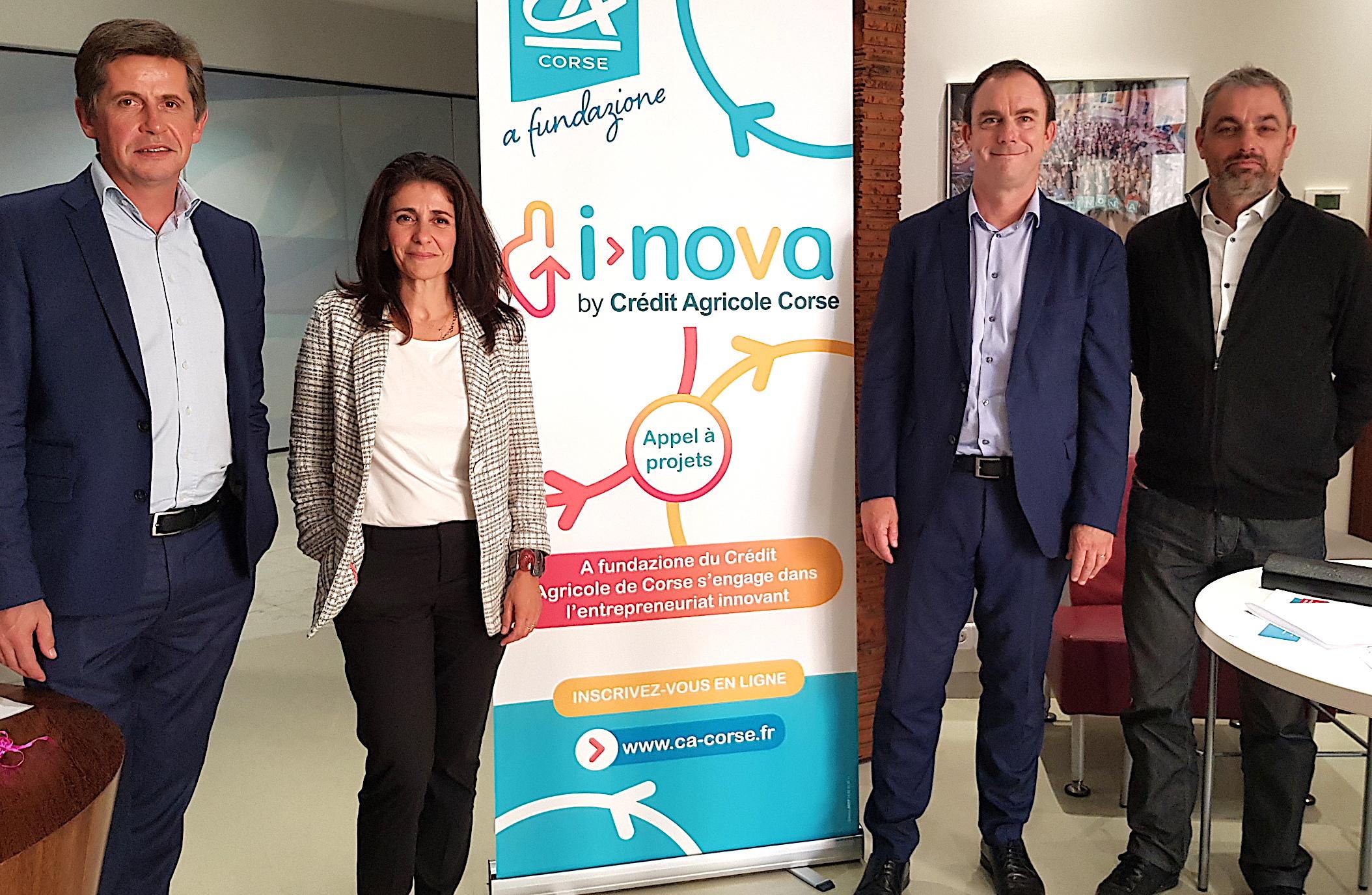 « I-Nova by CA » : le Crédit Agricole de la Corse lance un appel à projets innovants