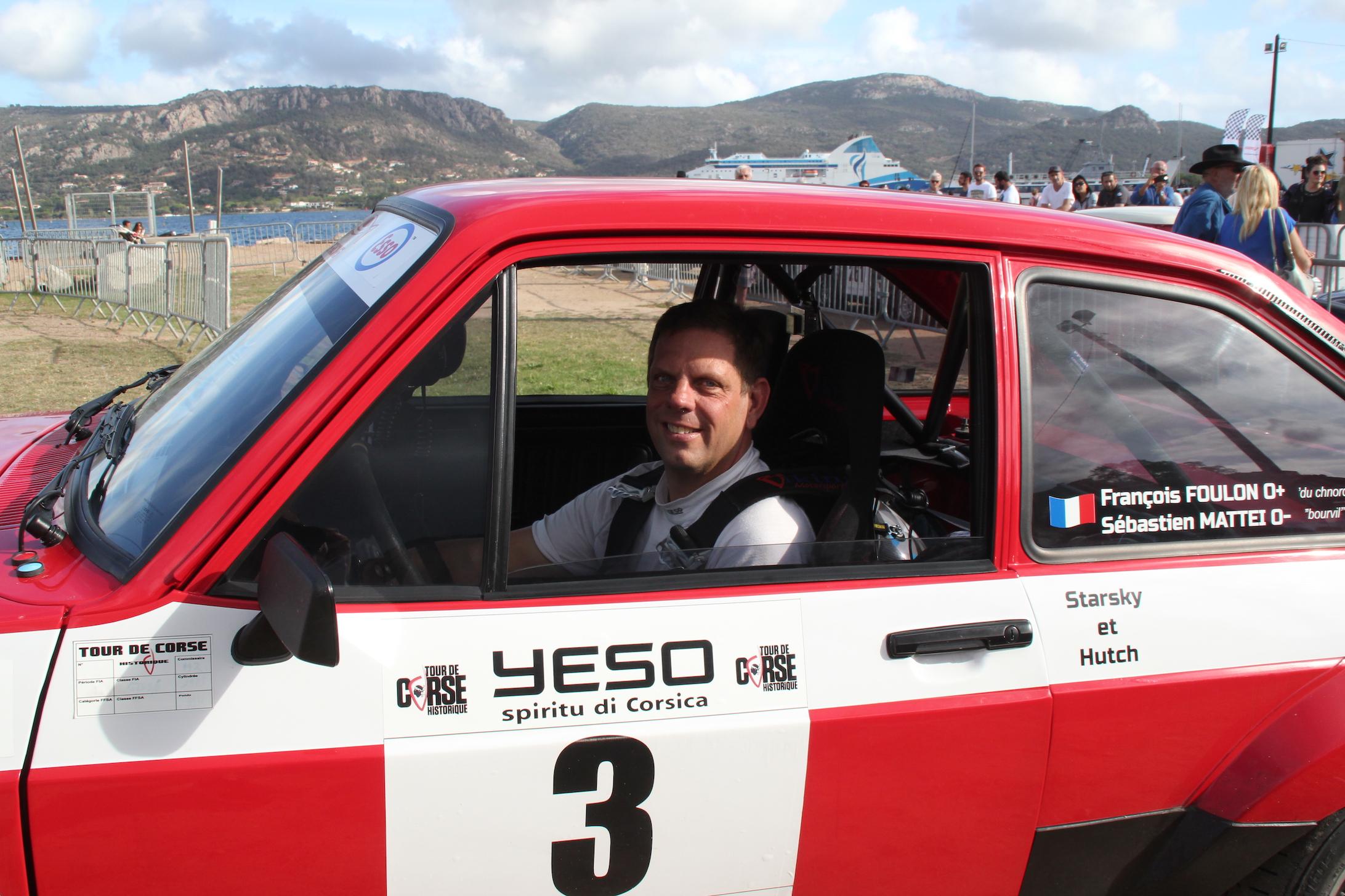 François Foulon remporte le 19e Tour de Corse Historique