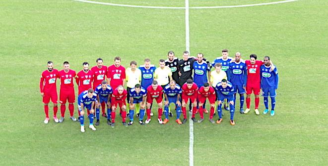 Les deux équipes nous ont gratifié d'un bon match.