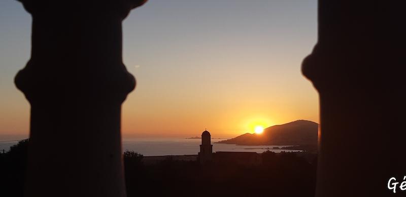 La photo du jour : Coucher de soleil à Bastelicaccia