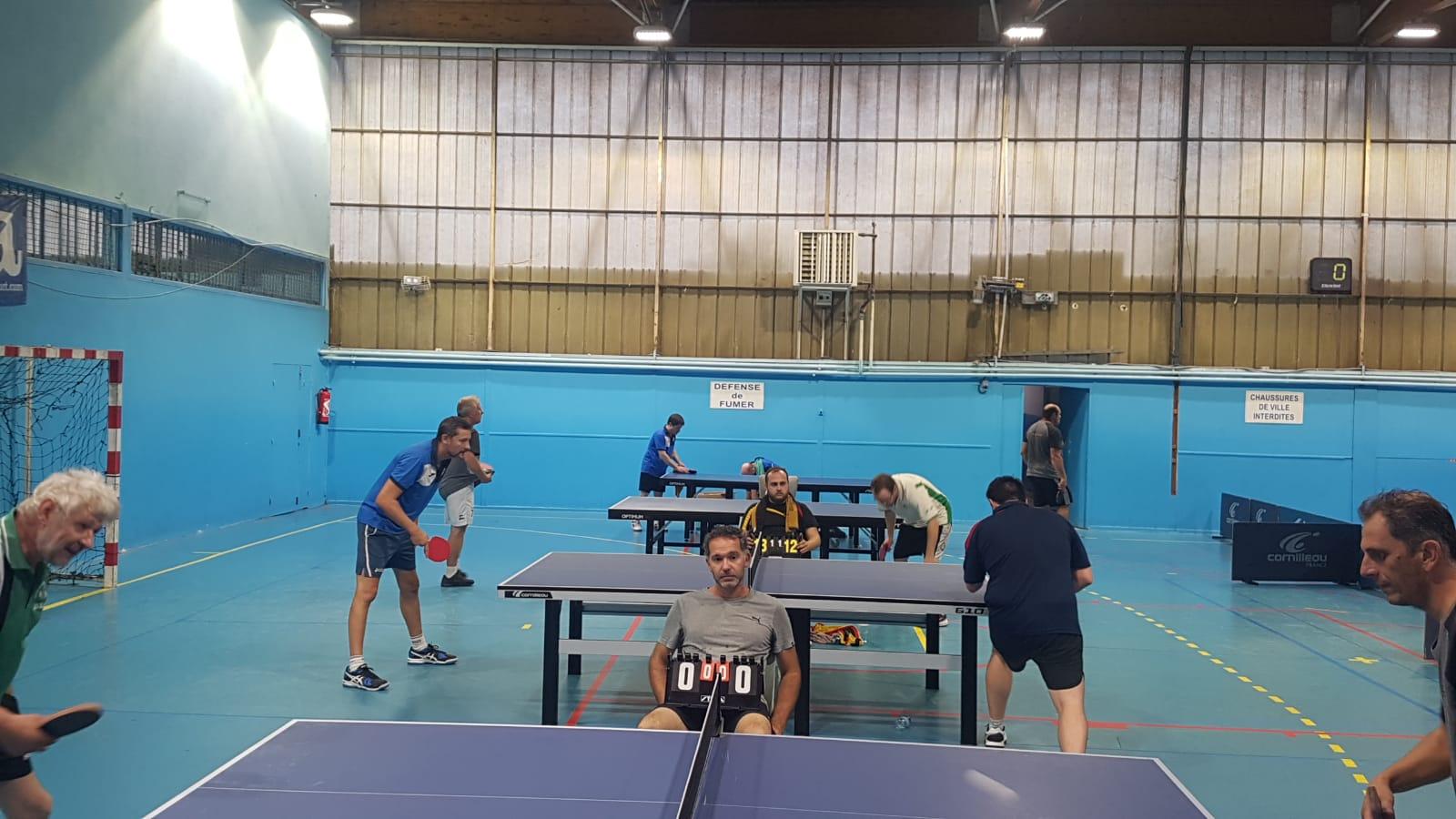 Tennis de table: c'est reparti pour la compétition!