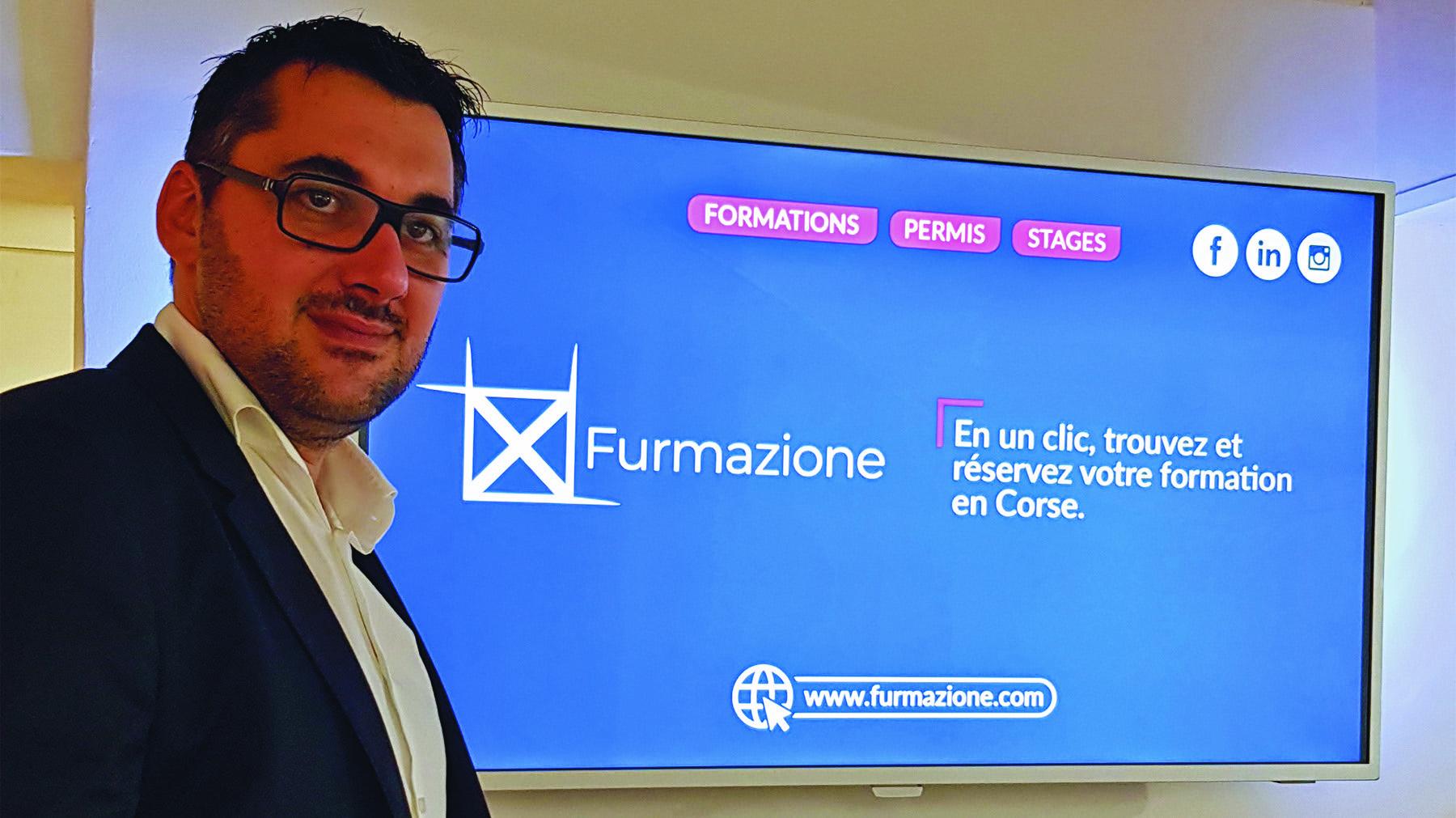 Jean-Antoine Mattei, créateur de la plateforme Furmazione.