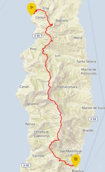 Il va falloir être costaud, très costaud pour rallier Centuri à Bastia.