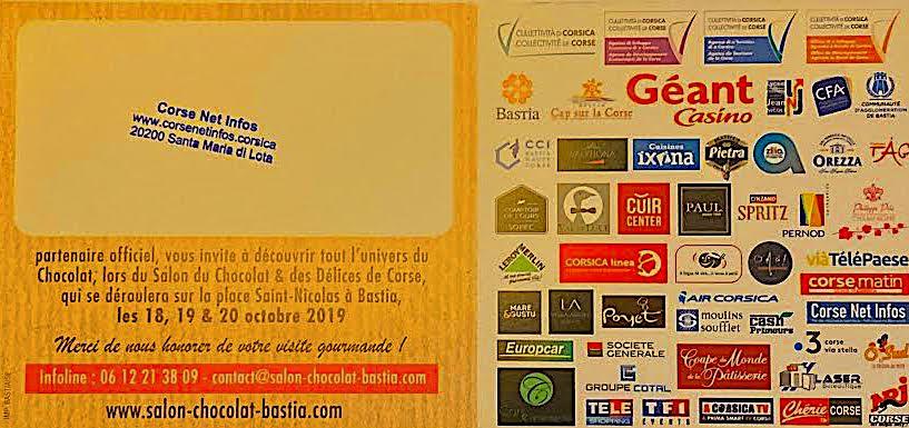 Gagnez votre place d'entrée au salon du chocolat de Bastia avec CNI