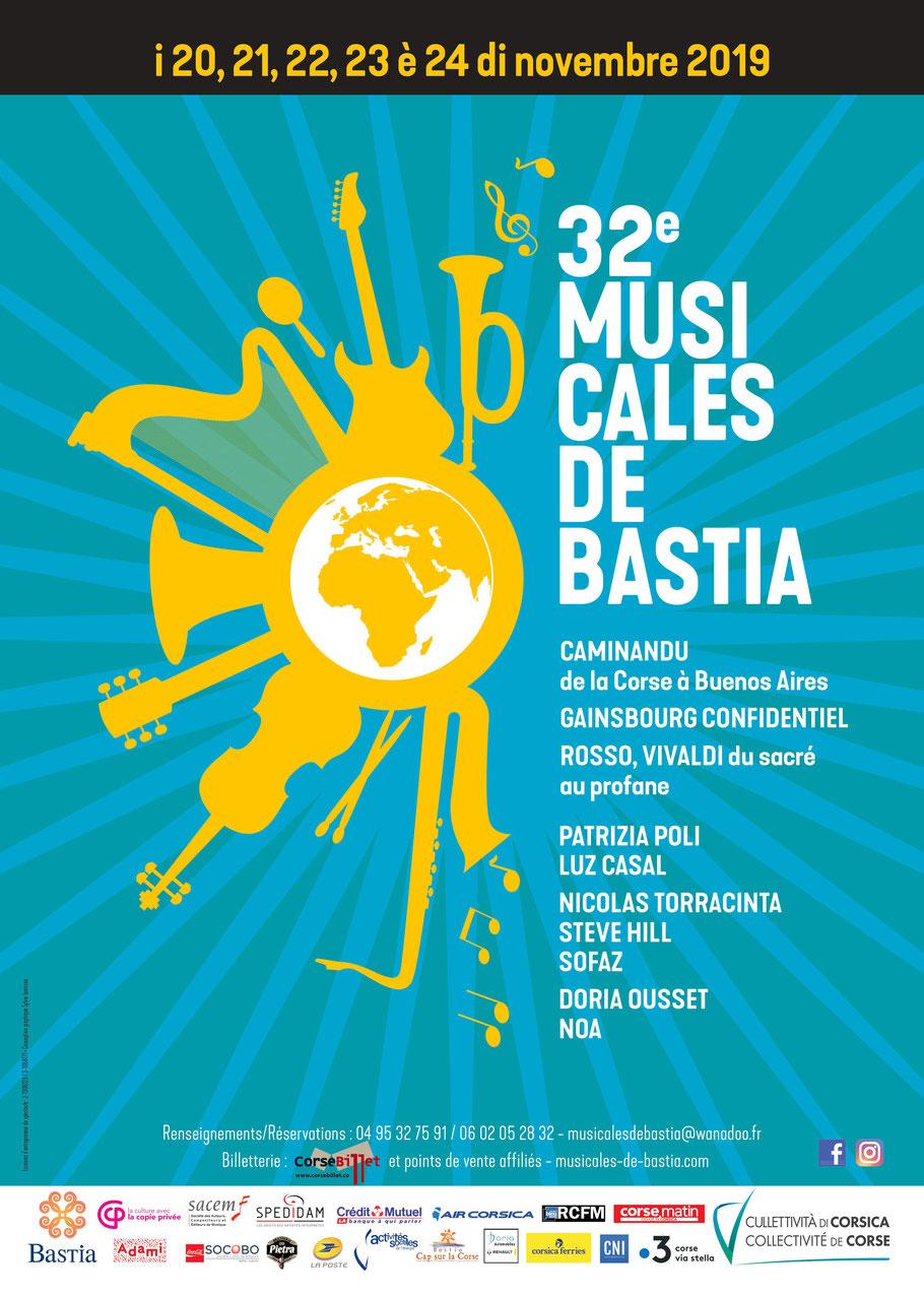 32es Musicales de Bastia : Comment réserver et acheter vos places ?