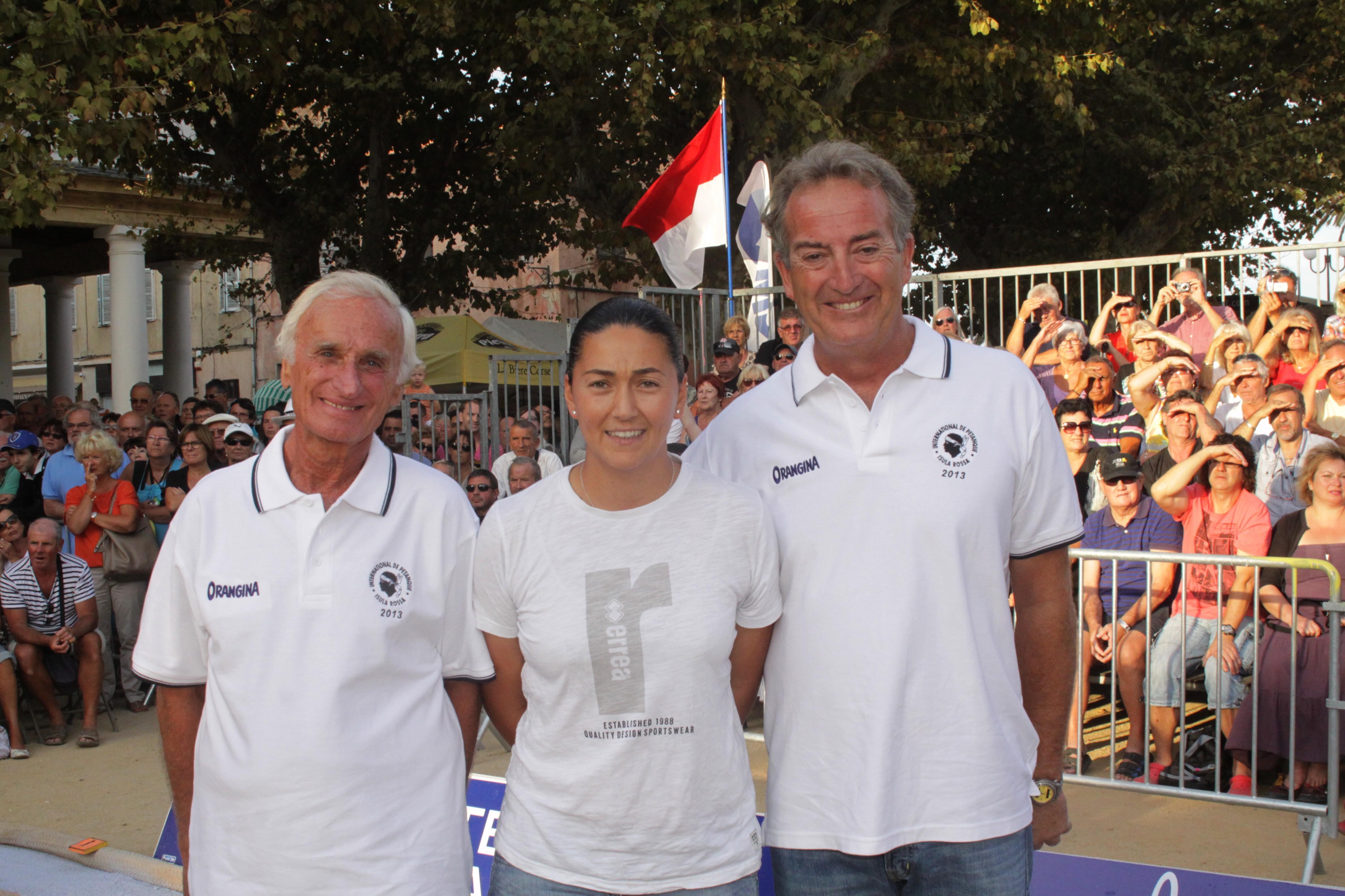 Au VIP Henri Salvador avec M.Angèle Germain et Jo Massard
