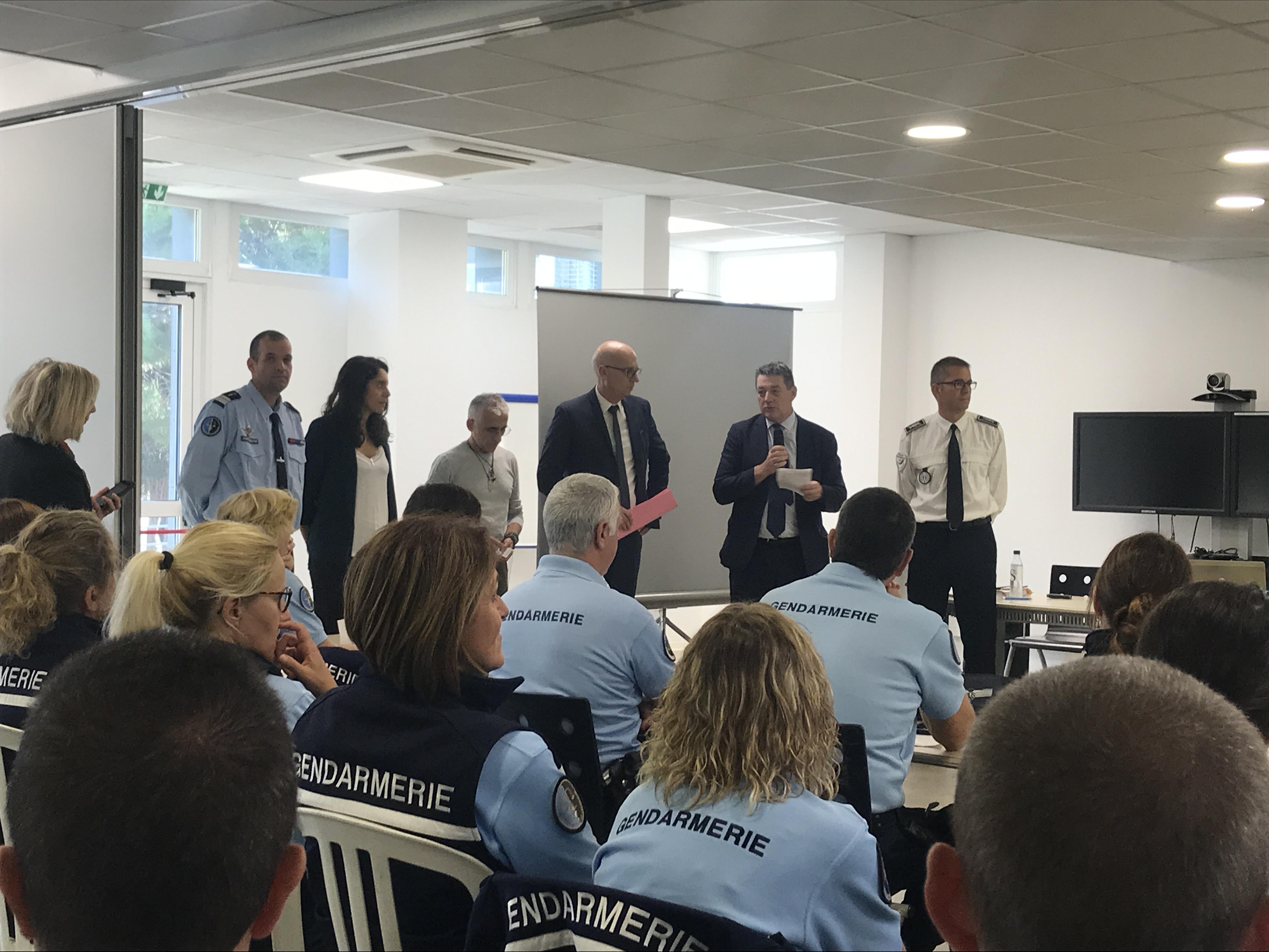 François Ravier, préfet de Haute-Corse ouvre la journée de prévention aux violences faites aux femmes