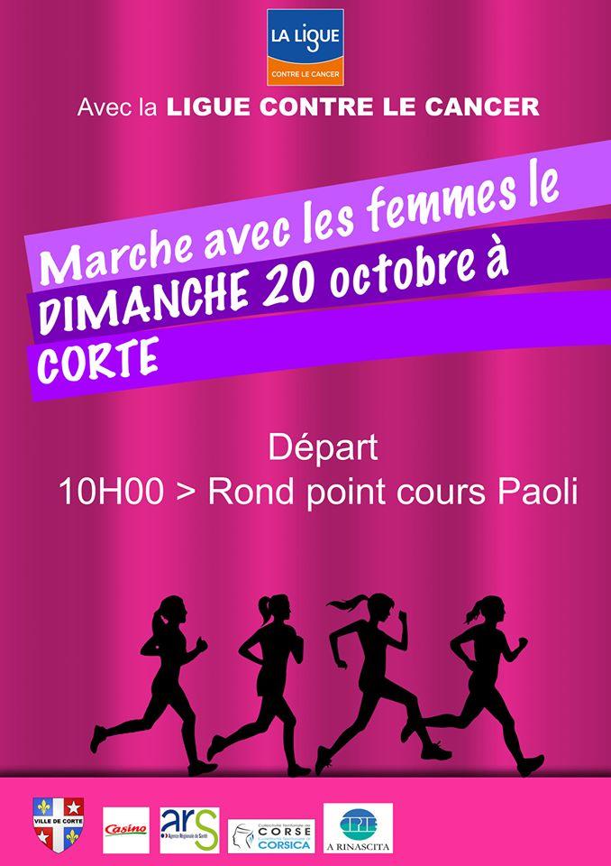 Corti : Une marche rose ce dimanche