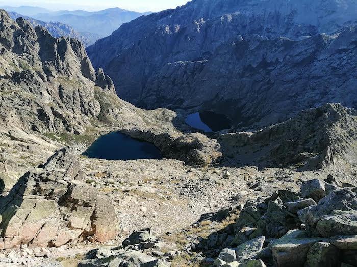 La photo du jour :  Les lacs de Melo et Capitello