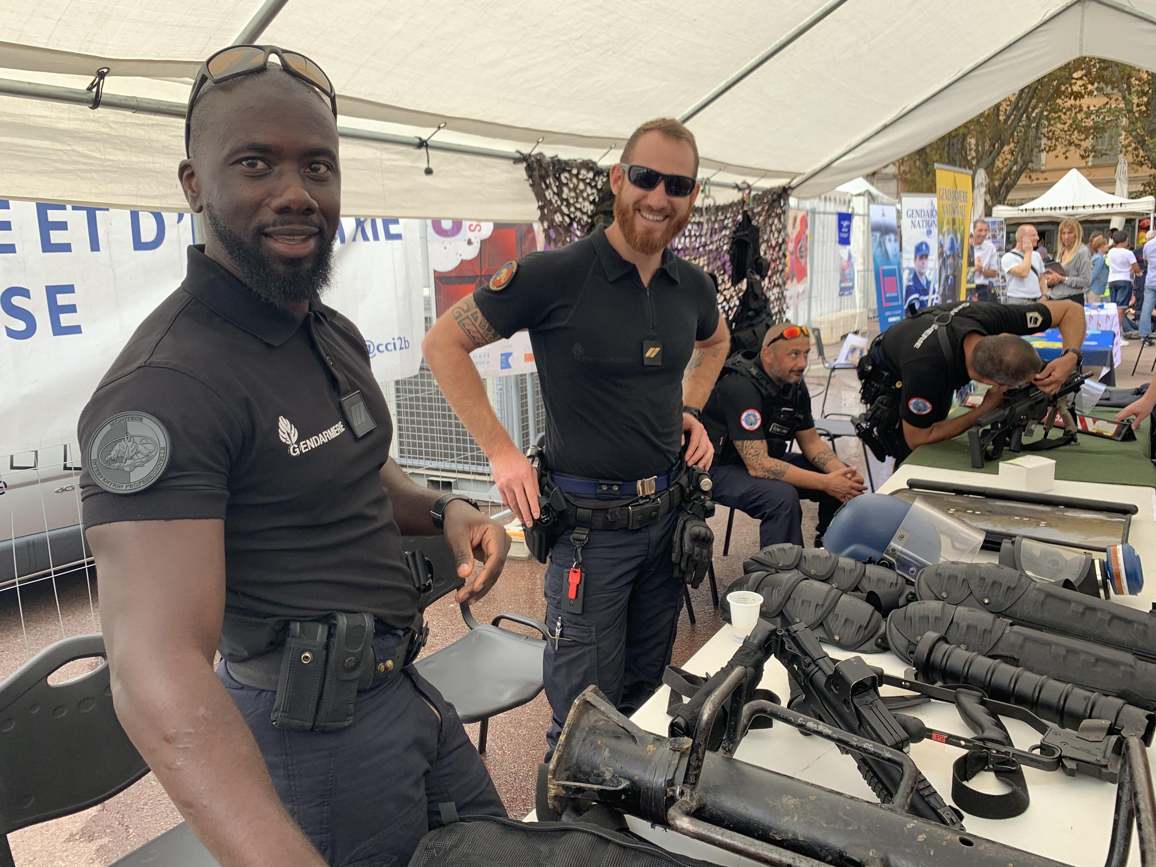 Haute-Corse : un village de la sécurité au cœur de Bastia
