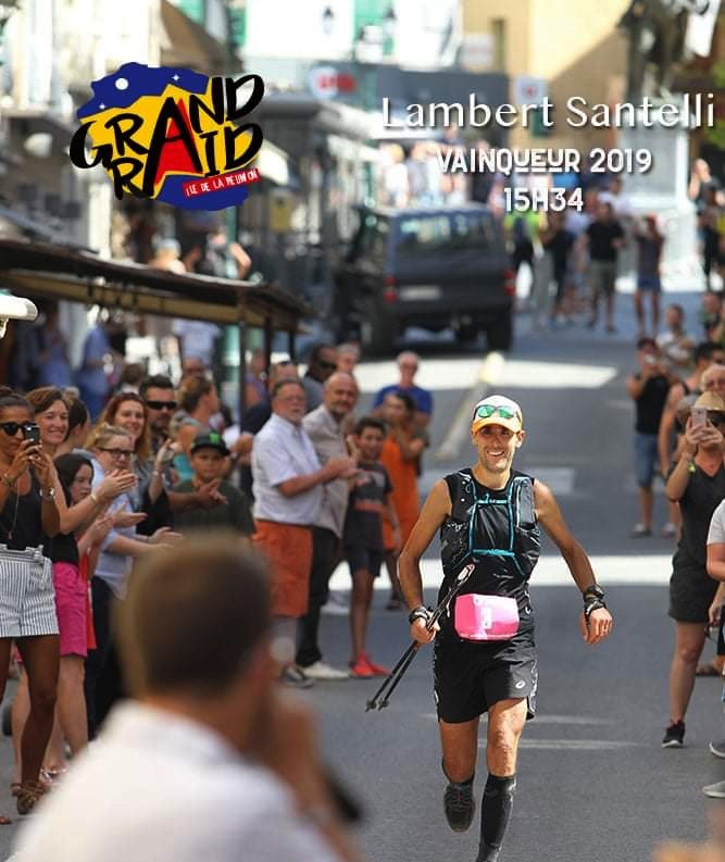 Retour sur la victoire record du balanin Lambert Santelli au Trail de Bourbon à l'île de la Réunion