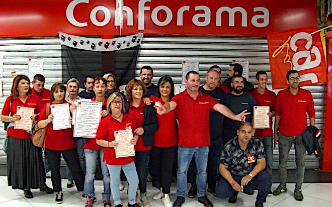 Conforama : grève à Furiani comme au plan national
