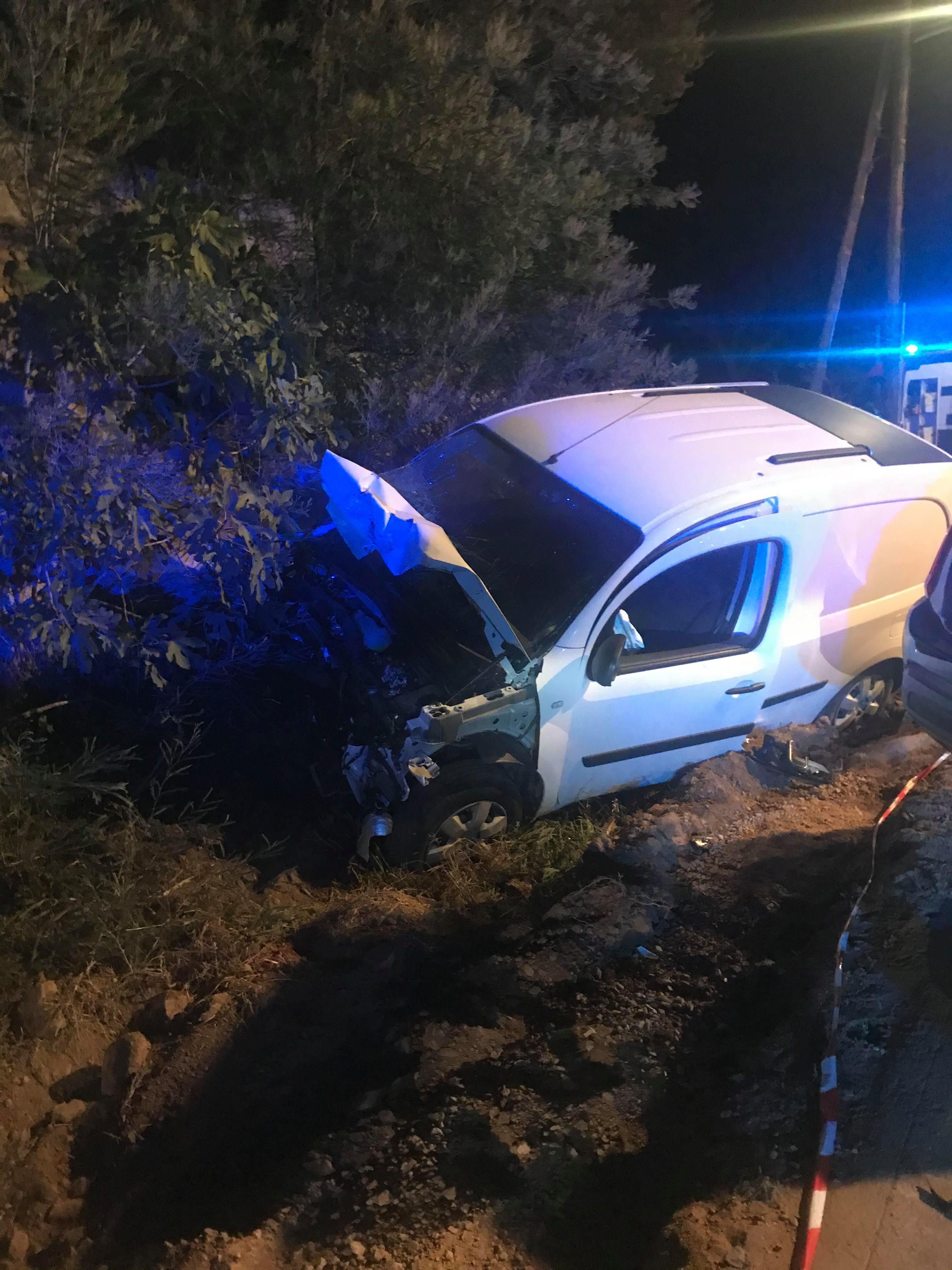 Accident à la sortie de Sainte-Lucie de Porto-Vecchio : deux blessés