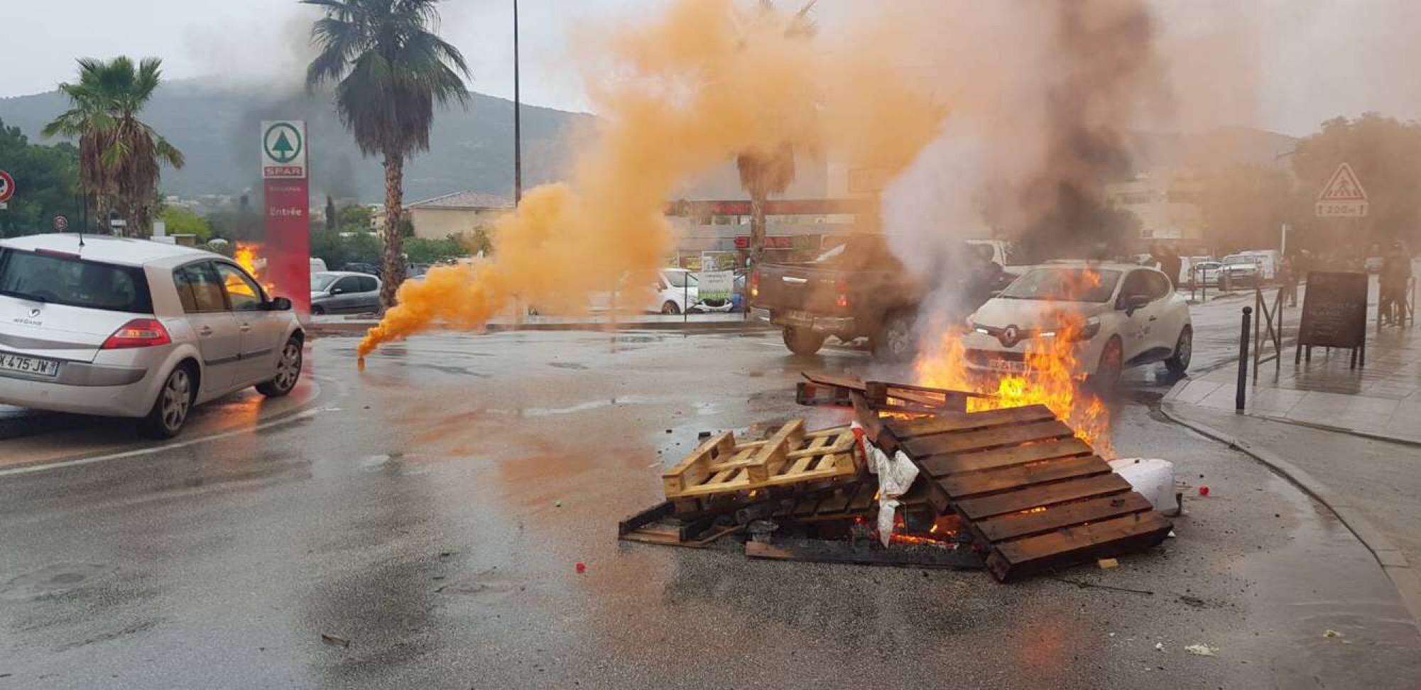 Crise agricole : En Corse du Sud les agriculteurs protestent à leur tour
