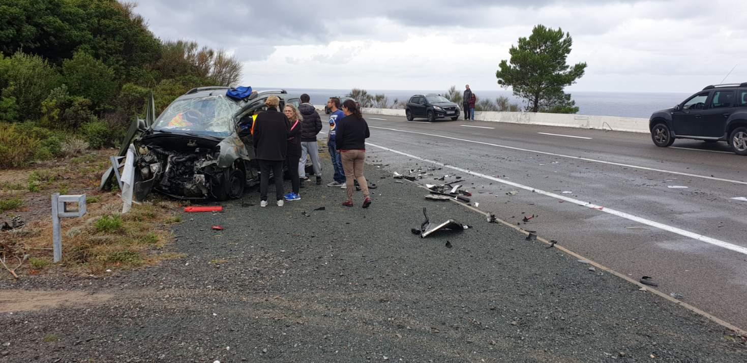 Une femme blessée dans un accident sur la RT30 en Balagne