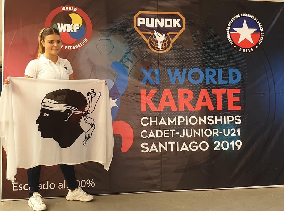 Karaté: Cassandra Sampieri dans le Top 5 mondial
