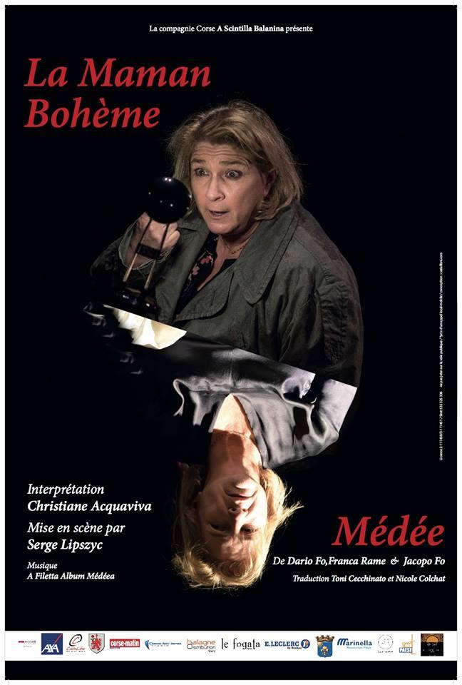 """""""La maman bohème / Médée"""" le 29 octobre à l'auditorium de Pigna"""