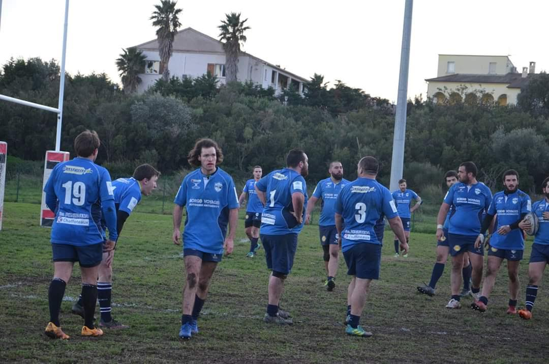 Rugby : Bastia XV vainqueur contre le RC Olympique Saint Andioles