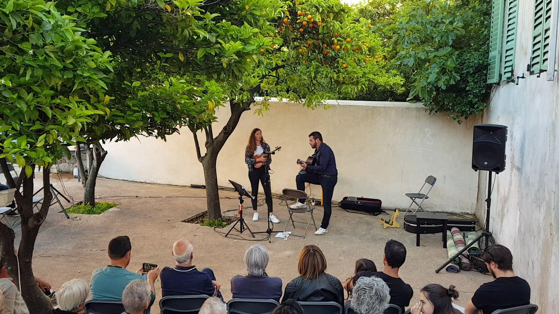 Léa et Nicolas Antona à l'Auditorium de Pigna ce samedi 2 novembre