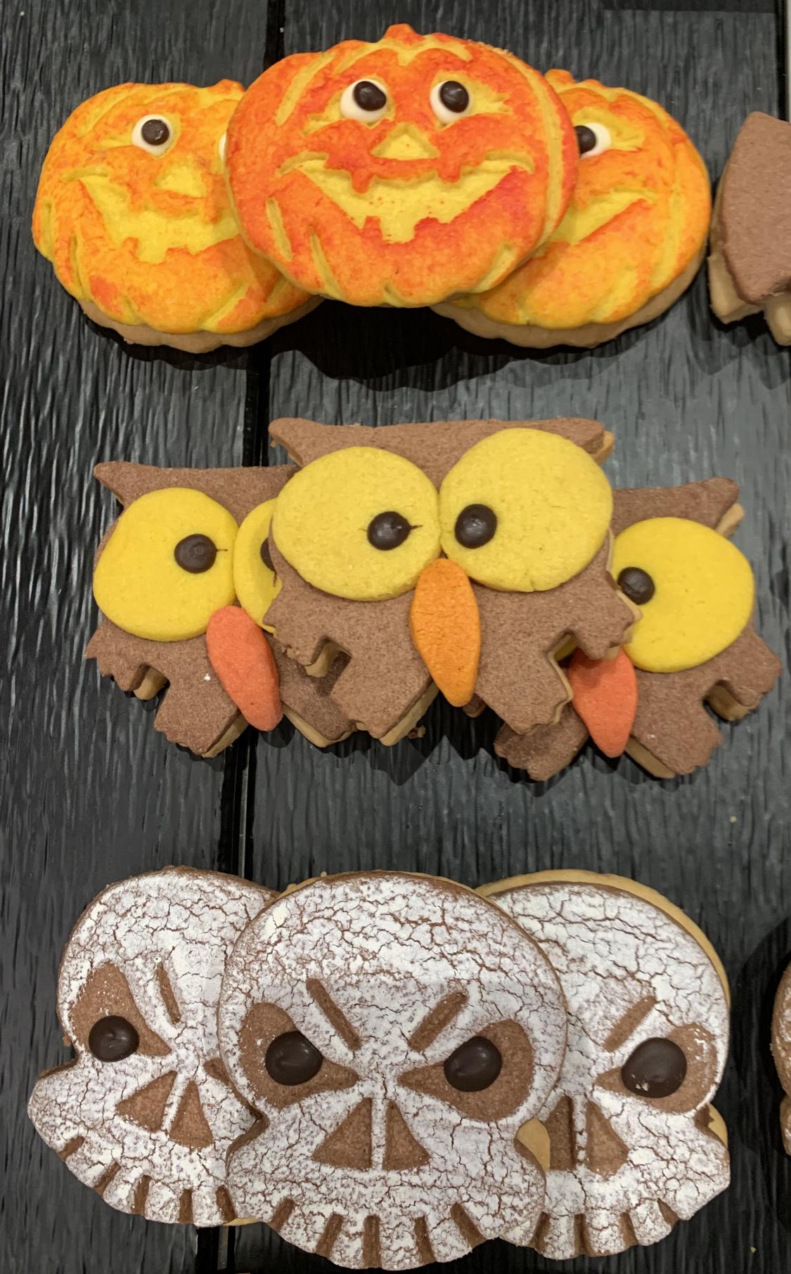 A table : La recette des Sablés d'Halloween