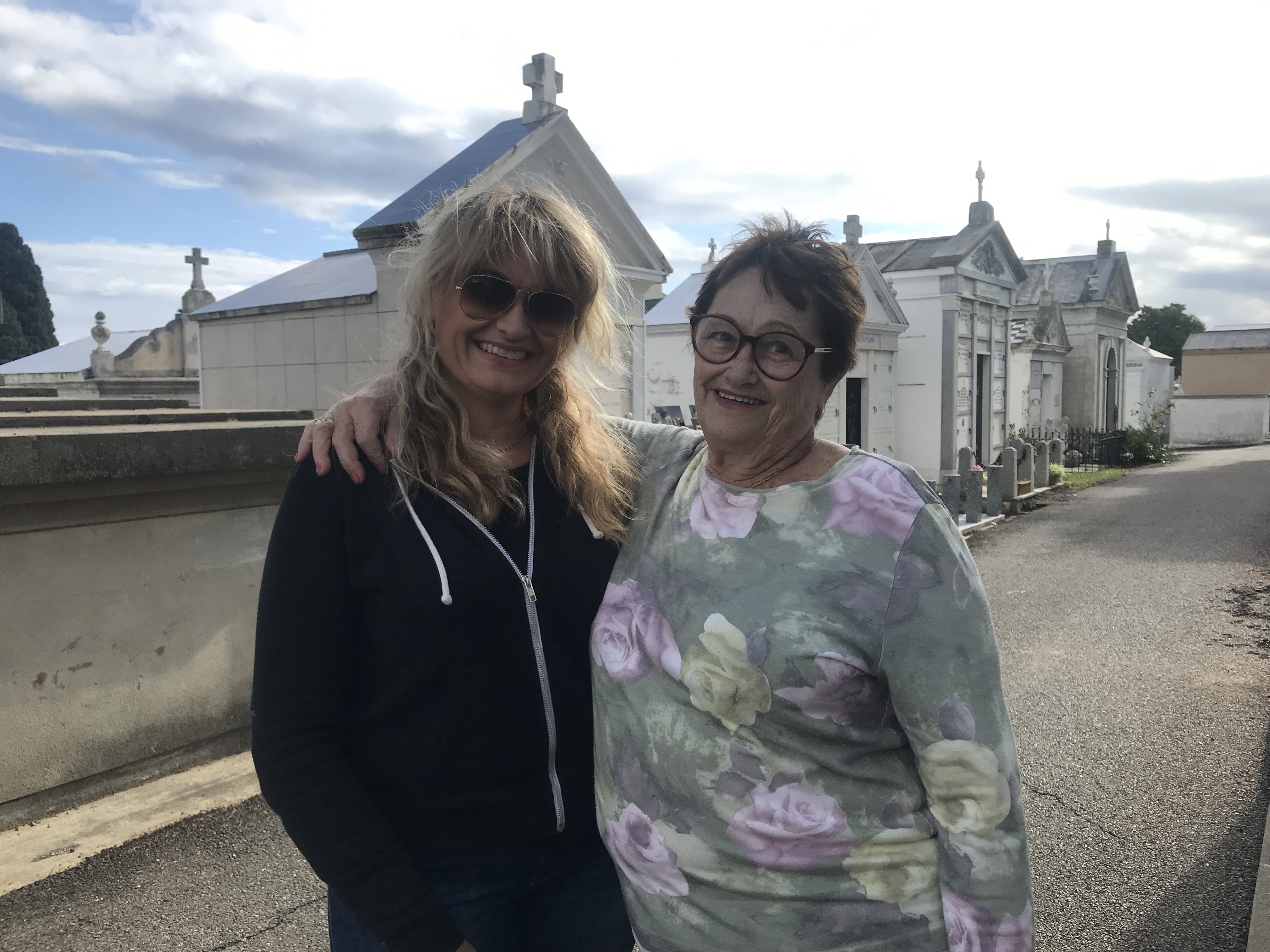 Aline 42 ans et sa maman Antoinette 80 ans