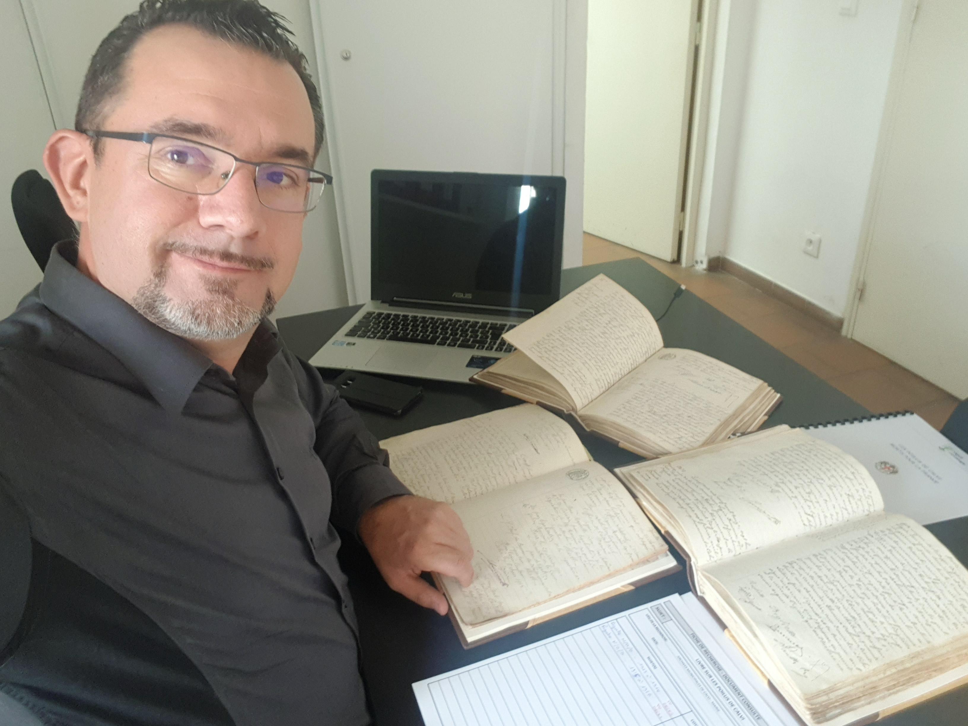 Grégory Viguié (Photo Dr)