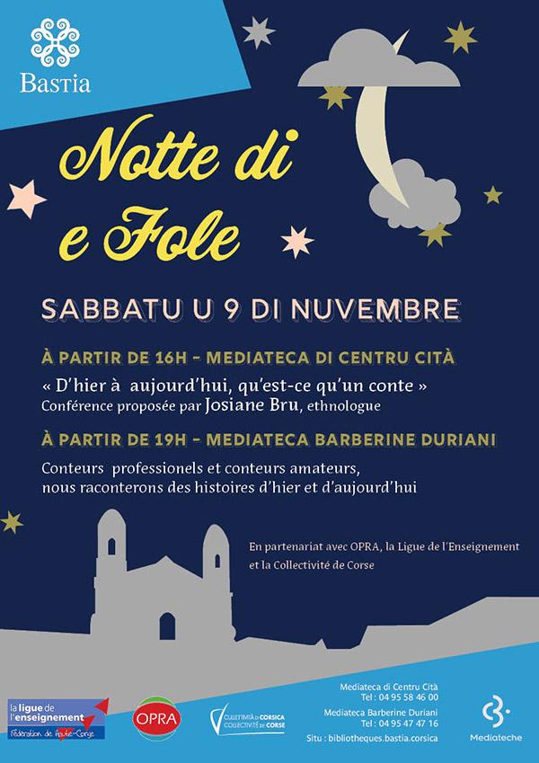 Notte di e fole in Bastia