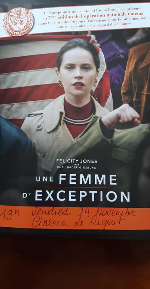 """""""Une femme d'exception"""" au Régent de Bastia"""