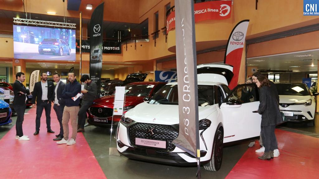 Le salon de l'auto au Palais des Congrès d'Ajaccio jusqu'à dimanche