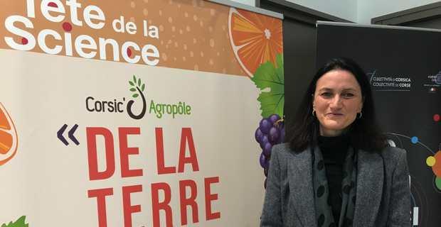 Vanina Pasqualini, universitaire, écologue et ambassadrice de la Fête de la Science.
