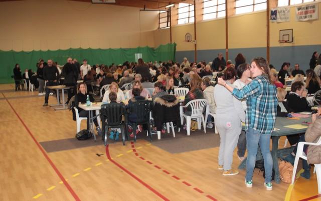 Salle comble pour le loto de l'Amicale des Pompiers de Calvi - Corse Net Infos