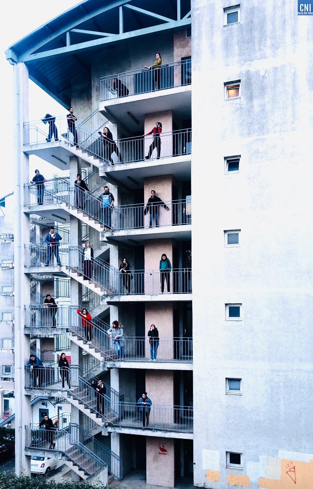 Identité(s) en Mouvement : restitution de création artistique à l'Université de Corse