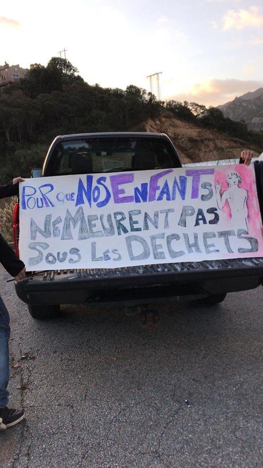 Sixième jour de blocage de Viggianello. La Corse confrontée à une nouvelle crise des déchets ?