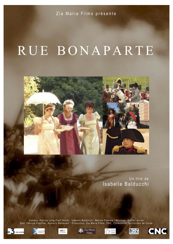 """Projection de """"Rue Bonaparte"""" le 4 décembre à Ajaccio"""