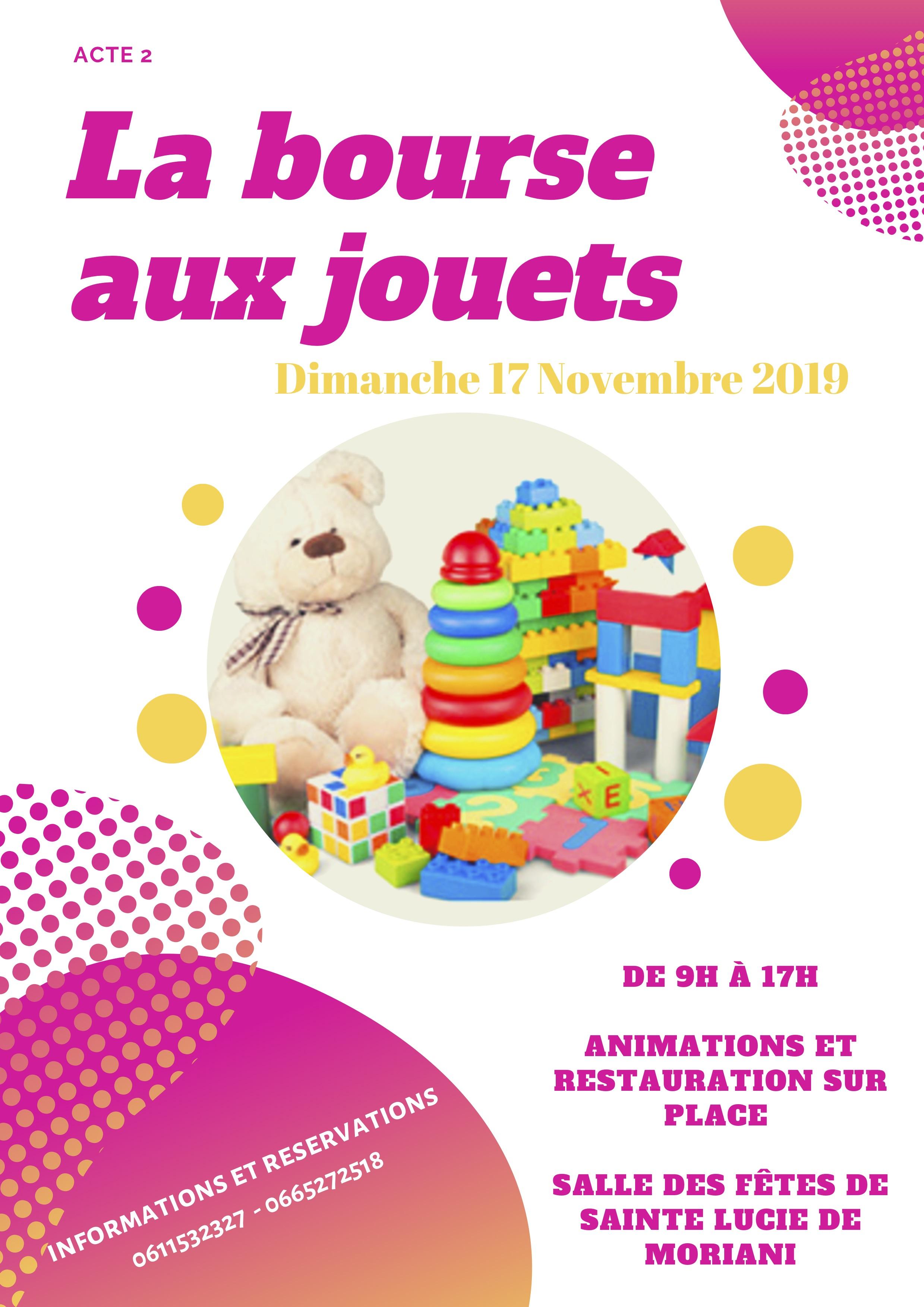 """Moriani : l'acte 2 de la """"Bourse aux jouets"""" c'est dimanche 17 novembre"""