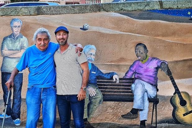 EN IMAGES - Les œuvres murales d'Adrien Martinetti à travers la Corse